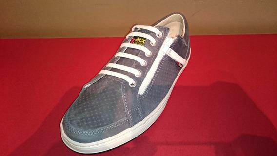 Zapatillas De Hombre Febo Superconfort Con Cierre