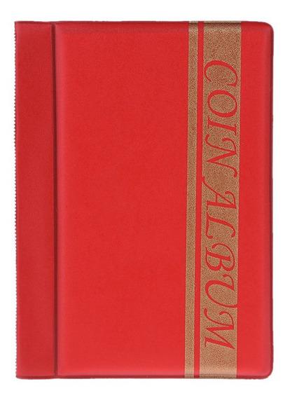 I - 120 Bolsos Moedas Album Collection Book Mini Penny Coin