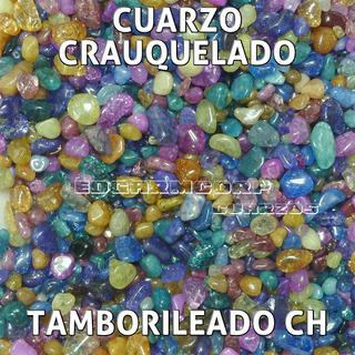 Cuarzo Trc23 Cuarzo Craquelado Pintado Multicolor Chico