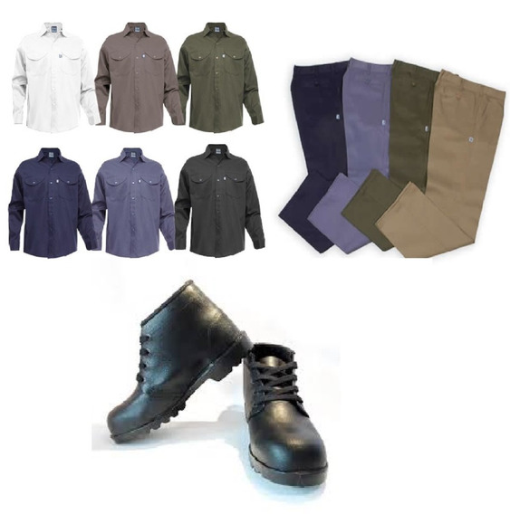 Kit Pantalon Botin Camisa Descuentos X Volumen