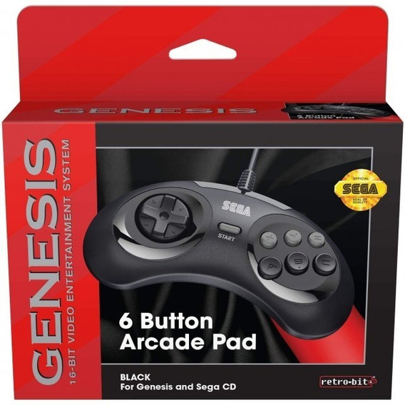 Controle Para Mega Drive Da Retro-bit