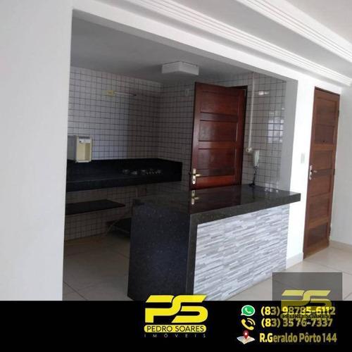 ( Oferta ) Apartamento Com 2 Quartos 1 Suíte No Bessa - Ap1594