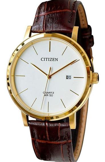 Relógio Citizen Masculino Analógico Couro Tz20699b