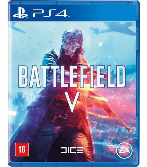 Jogo Battlefield V Mídia Física Ps4 Novo Lacrado