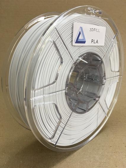 Filamento 3d Pla _ 1,75 Mm _ 1 Kg - Branco _ Frete Grátis