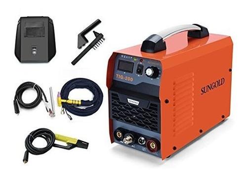 Sungoldpower 200amp Tig Arc Mma Stick Igbt Dc Inverter Siste