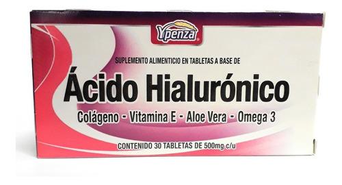 Ácido Hialurónico Ypenza 30 Tab Envio Full