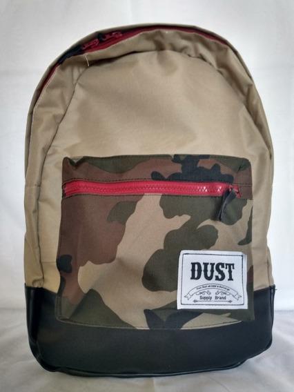 Mochila Dust Desert Beige + Bolsillo Camuflado