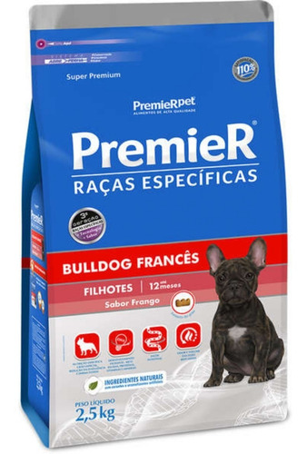 Premier Raças Específicas Bulldog Francês Filhotes 2,5kg