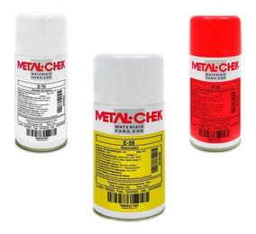 Kit Revelador+penetrante+removedor Metal-check D70,vp30 E59