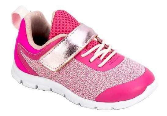 Tênis Infantil Feminino Baby Pink Ortopé O2064884*