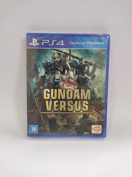 Gundam Versus Ps4 Mídia Física Novo Lacrado.