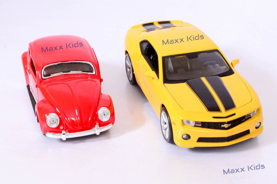 Kit Fusca Rebaixado + Camaro Ss Rs 2010 Miniatura Maisto