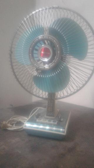 Ventilador De Mesa , Antiguo Vintage , Con Luz