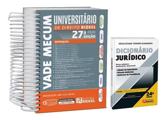 Vade Mecum Universitário Direito + Dicionário Jurídico