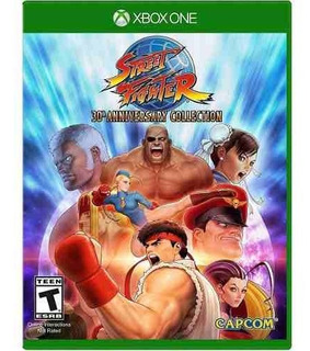 Street Fighter 30th Anniversary Colección Xbox One Offline