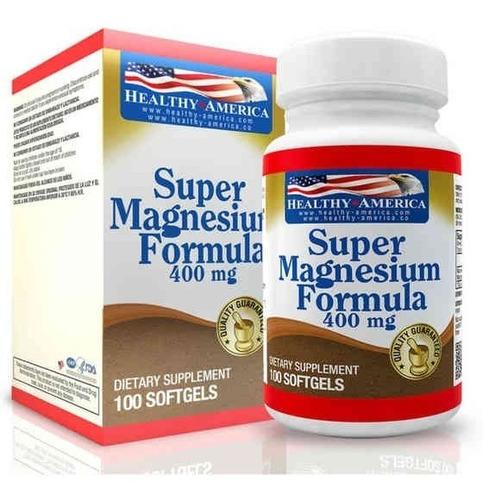 Super Magnesio 400 Mg 100 Softgels - Unidad a $500