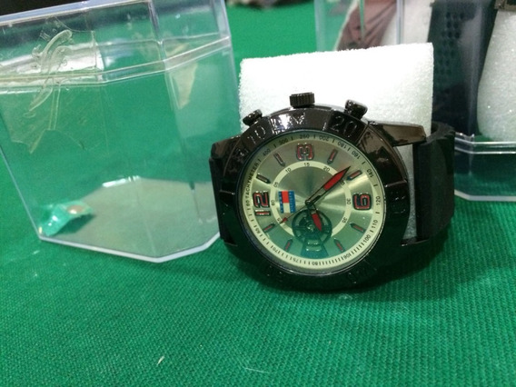 Relógio De Pulso Masculino Multi Marcas Correia Em Borracha