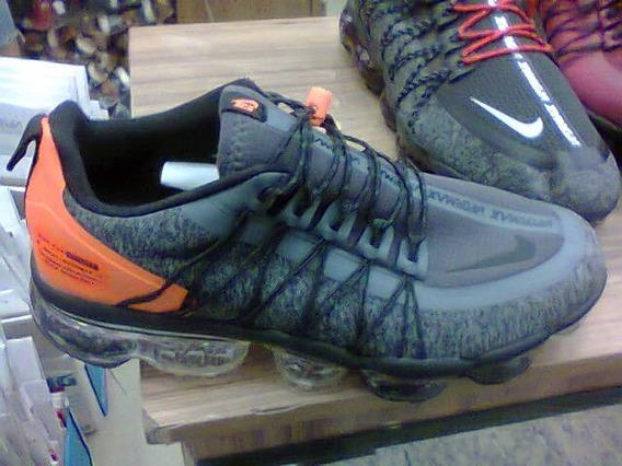 Tenis Nike Vapormax Run Azul E Laranja Nº38 Ao 43 Original