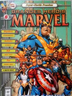 Hq Super-heróis Premium - Grandes Heróis Marvel N° 6