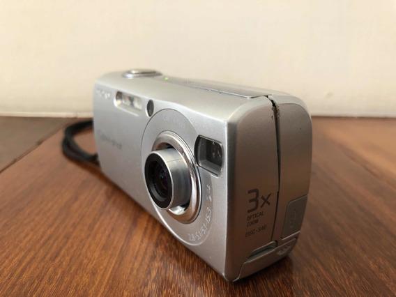Câmera Fotográfica Sony Cyber Shot Dsc-s40