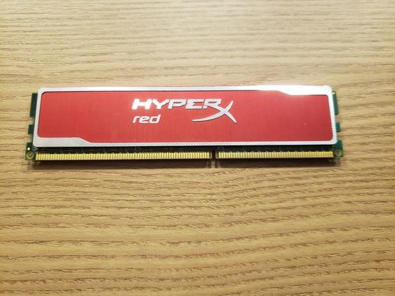 Memoria 4gb 1600mhz Hyper Red Kingston - Upgrade Gamer