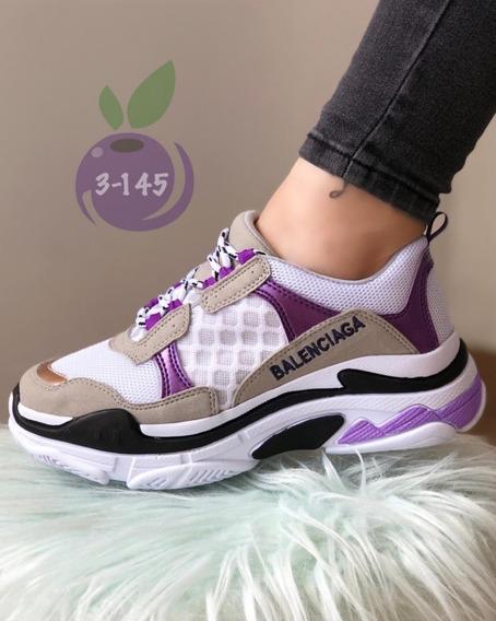 Tenis Balenciaga Mujer Zapato Deportivo Y De Moda Casual