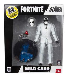 Fortnite Wild Card Black/red Suit Figura De Colección 17 Cm
