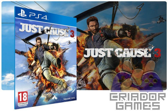 Just Cause 3 Ps4 Digital Psn Vitalício Português