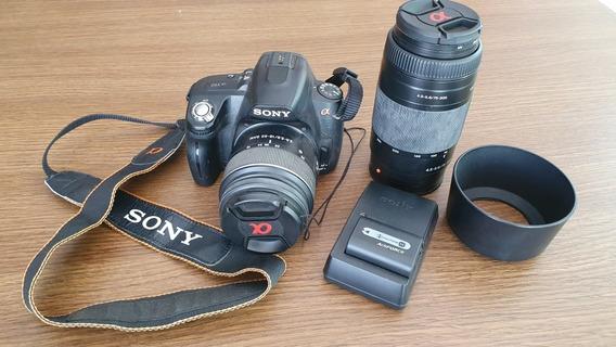 Câmera Dslr Sony Alpha A390