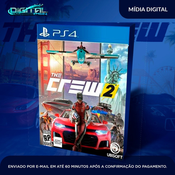 The Crew 2 Ps4 Psn Digital Original Completo Envio Imediato!