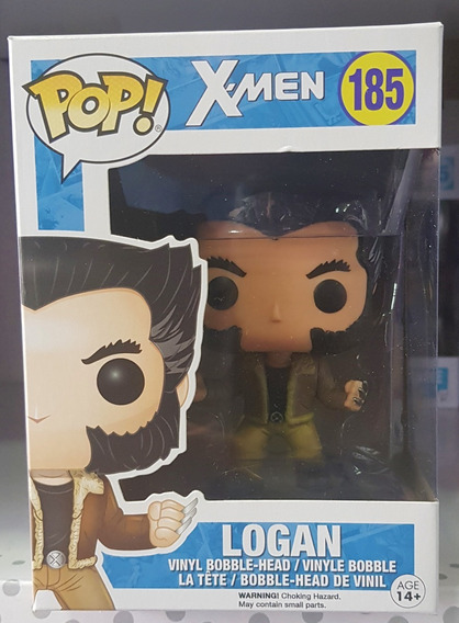 X-men - Logan - Boneco Pop Funko Original