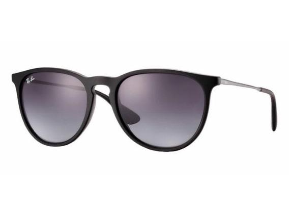 Oculos De Sol Ray Ban Erika Rb4171 - Preto - Original