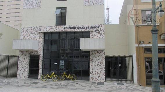 Studio Com 1 Dormitório Para Alugar, 21 M² Por R$ 1.250,00/mês - Centro - Curitiba/pr - St0018