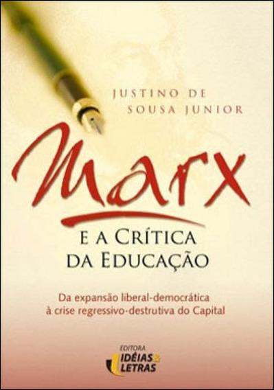 Marx E A Critica Da Educaçao