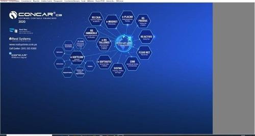 Concar Sistema Contable2020.07 Actualizado E Instalado S/150