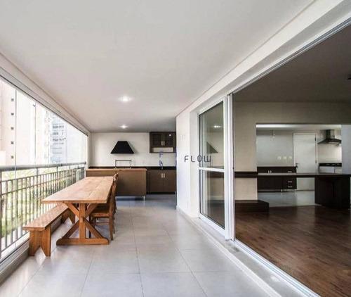 Imagem 1 de 29 de Apartamento Com 246 M², 4 Suítes, Varanda Com Churrasqueira Na Vila Mariana - Ap12501
