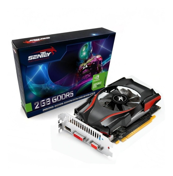 Placa de video Nvidia Sentey GeForce 700 Series GTX 750 NT75NP025F 2GB