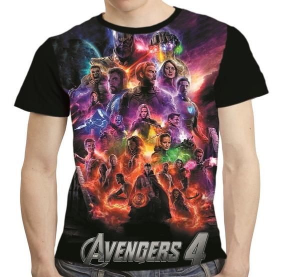 Camisa Avengers Camiseta Thanos Vingadores Endgame 04
