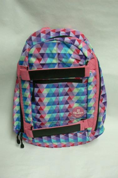 Mochila Escolar Espalda Talbot Triangles
