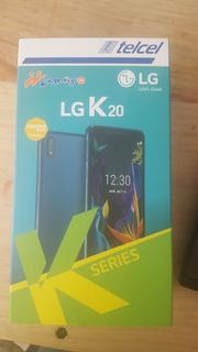 Celular Lg K20 Telcel Nuevo En Caja