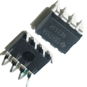 Dip 8 Ne555 Ci 555 Temporizador Multivibrador Ne555p P*