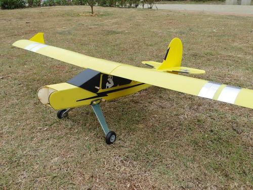 Imagem 1 de 5 de Aeromodelo Pastinha Piper J3 Artal Modelo Asa Baioneta