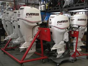 Motor De Popa 130 Hp Evinrude E-tec Okm Miami Nautica