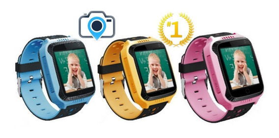 Gps Smartwatch Reloj Localizador Cámara Touch Niños Env Gtis