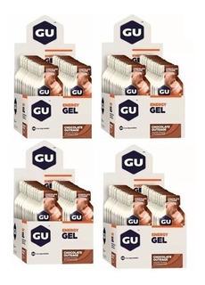 4x Gu Energy Gel - 24 Sachês - Gu