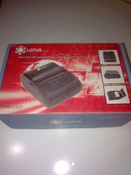 Impressora Térmica Portátil Lotus Bluetooth Lt5802dd