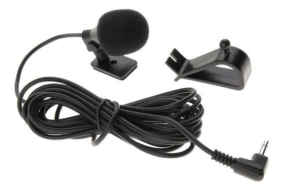 Mic Mono Para Carro Bluetooth Estéreo Gps Dvd Rádio Receptor