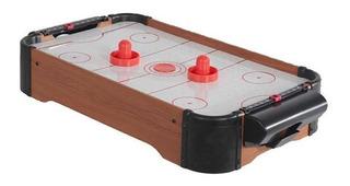 Juego De Air Hockey Mini Para Mesa Increible