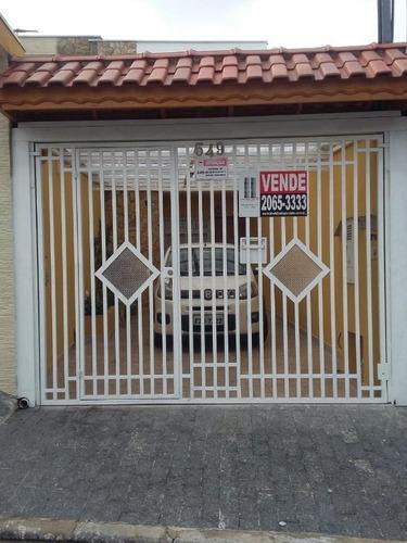 Sobrado À Venda, 85 M² Por R$ 480.000,00 - Vila Ema - São Paulo/sp - So0581